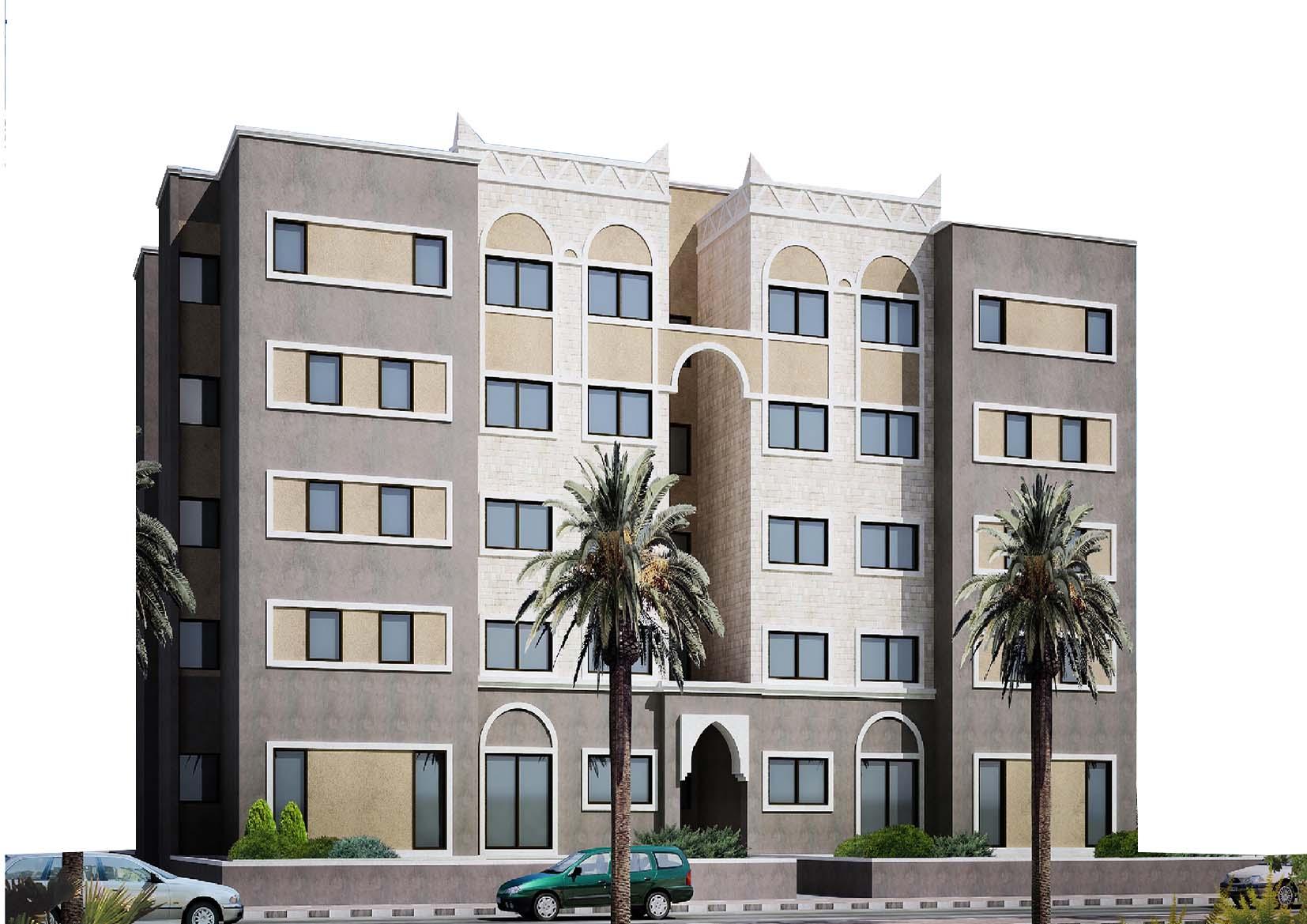 شقة سكنية مساحة مائة واربعون  متر مربع حجر