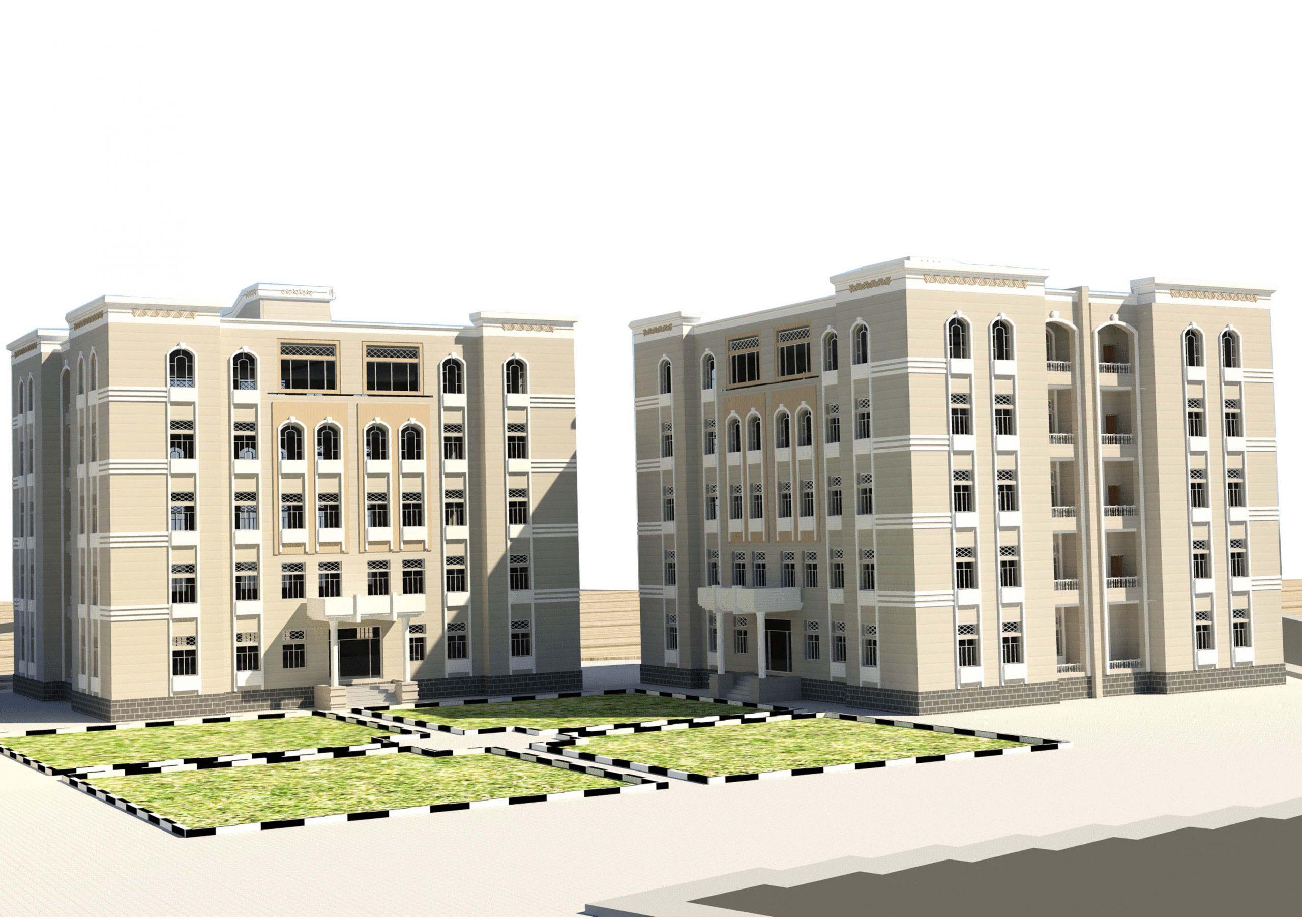 شقة سكنية مساحة (130) متر مربع